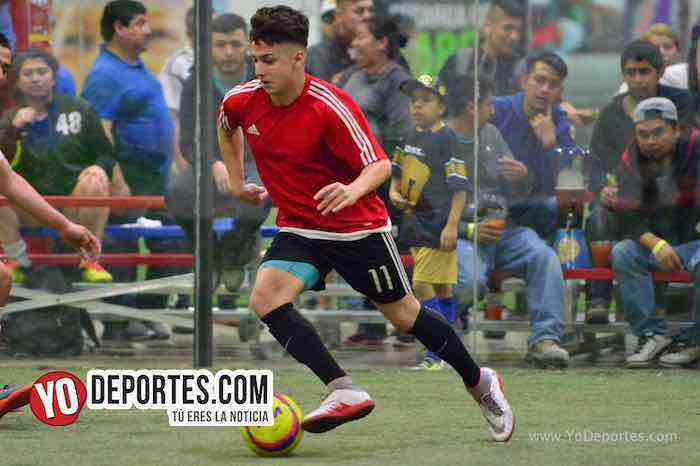 Marquette FC-UNAM-Liga 5 de Mayo final indoor soccer