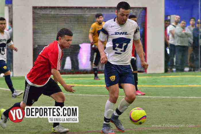 Marquette FC-UNAM-Liga 5 de Mayo futbol