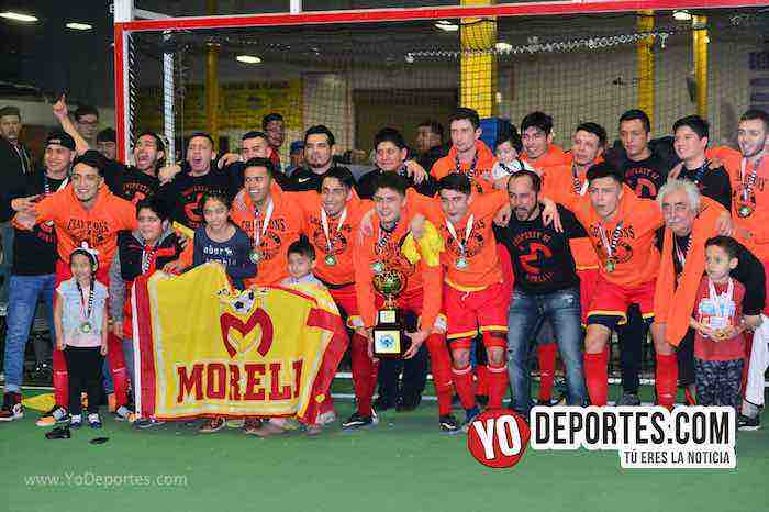 ¡Campeonísimos! Morelia levanta su tercera copa en Windy City Soccer League