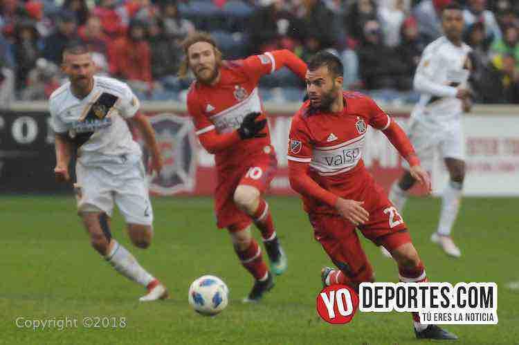 Nemanja Nikolic-Chicago Fire-LA Galaxy Toyota Park