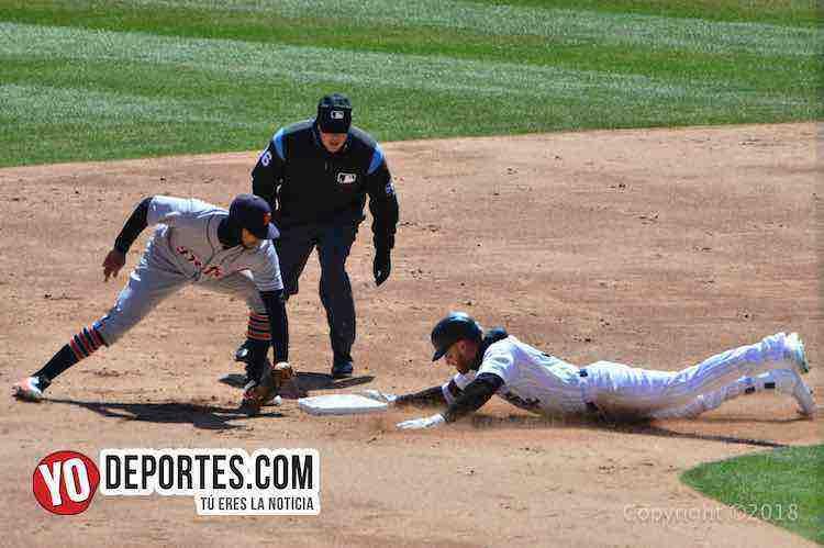 Nicky Delmonico-White Sox-Detroit Tigres