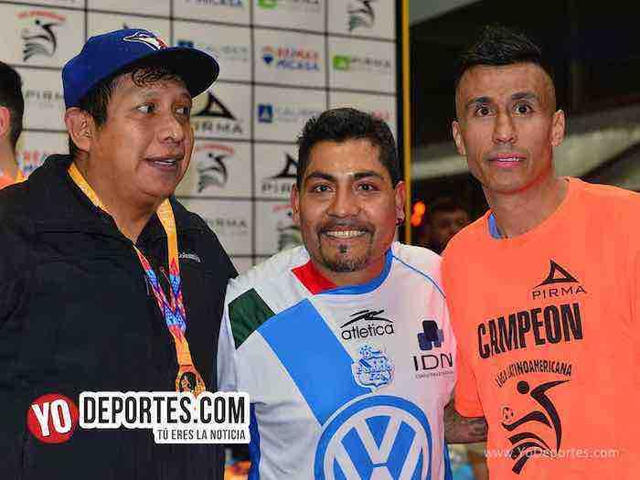 Osvaldo Romero-Luis El Negro Sandoval-Chicago Soccer-Deportivo Guerrero-Champions-Liga Latinoamericana