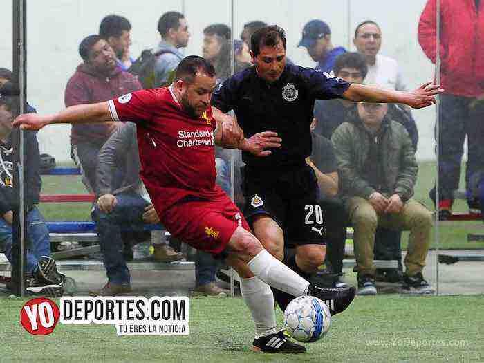 Valle de Guadalupe-Liverpol-Liga Latinoamericana-veteranos Chicago soccer