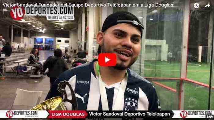 Victor Sandoval debuta como dirigente ganando tercer lugar con Deportivo Teloloapan en la Liga Douglas