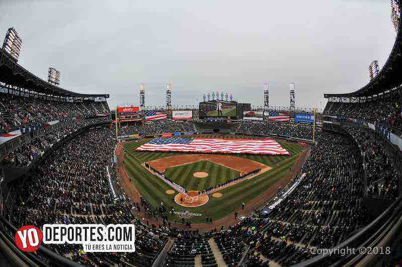 White Sox-Tigres Detroit-Opening Day