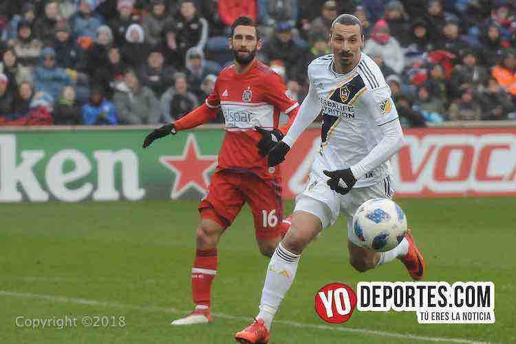 Zlatan Ibrahimovic-Chicago Fire-LA Galaxy Toyota Park