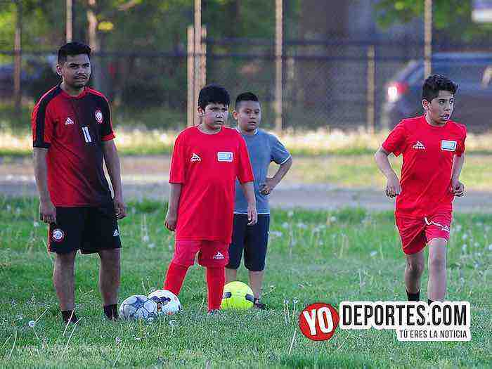 Academia Tigres UANL Chicago Illinois futbol infantil