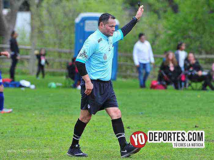 Arbitro Armando Ortega-San Luis-Juventus-Liga 5 de Mayo