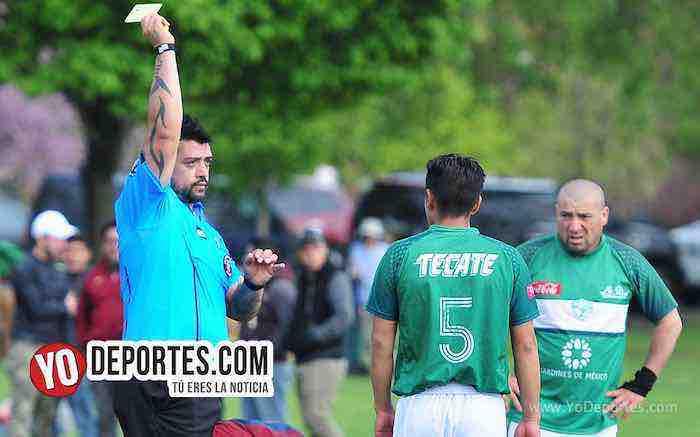Arbitro Francisco Paco Castro-Estrella Blanca-Real Tilza-Liga Douglas