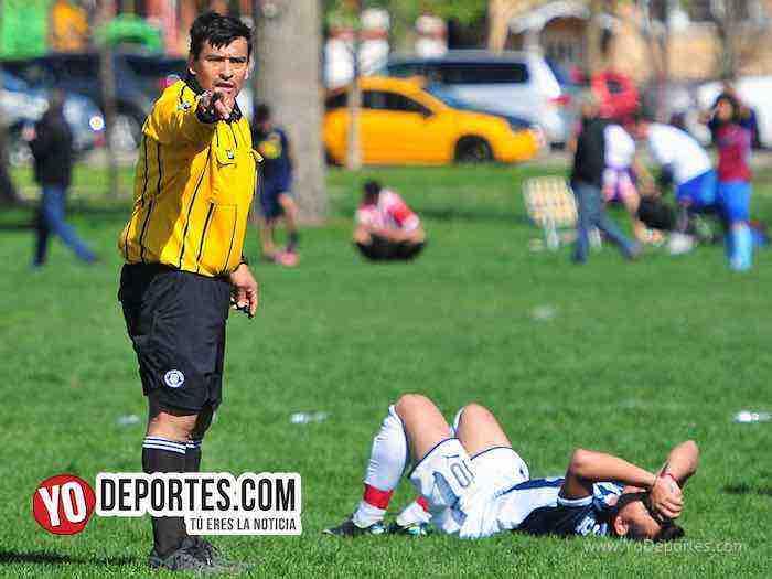 Arbitro Guillermo Caballero-Douglas Boys-Deportivo Hidalgo-Liga Douglas