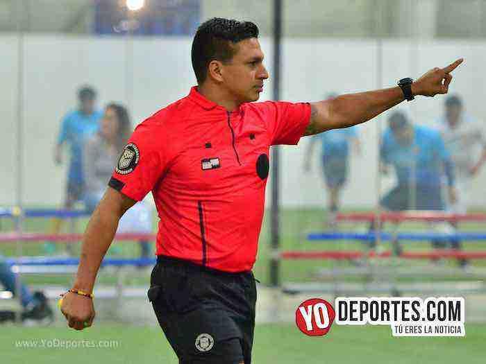 Arbitro Leo Zuniga-Cruz Azul-Deportivo Azteca Jr-Liga Latinoamericana