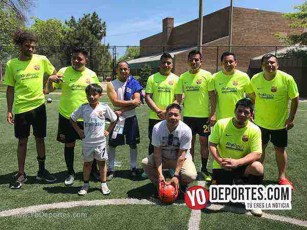 Barcelona-final champions chicago Illinois International Soccer