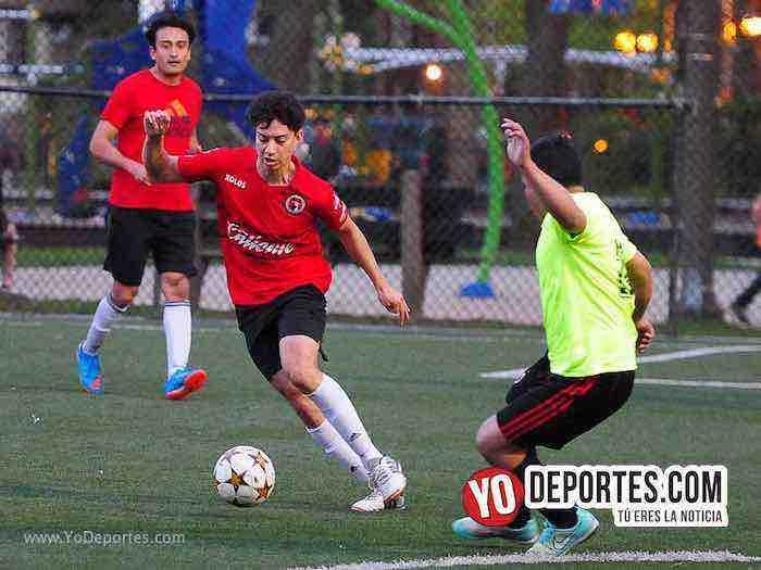 Bayern-Barcelona-Illinois International Soccer League Chicago Pottawottomie Park