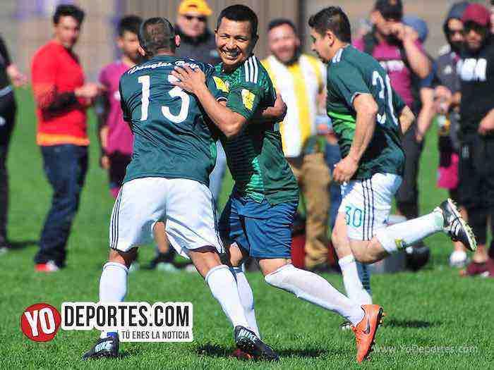 Ganan los campeones Douglas Boys, se imponen al Deportivo Hidalgo 2-0