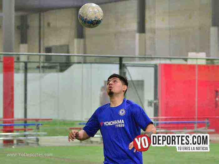 Cruz Azul-Deportivo Azteca Jr-Liga Latinoamericana Chicago Indoor soccer