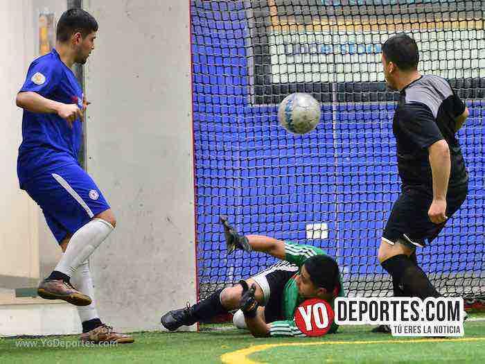 Cruz Azul-Deportivo Azteca Jr-Liga Latinoamericana futbol chicago