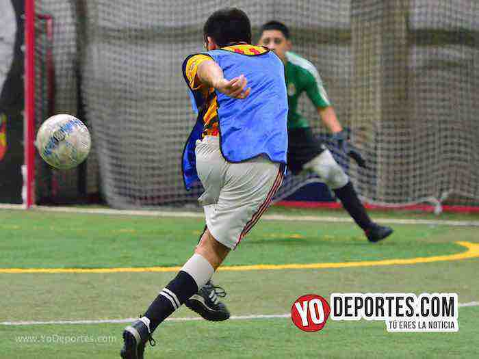 Cruz Azul-Deportivo Azteca Jr-Liga Latinoamericana futbol indoor
