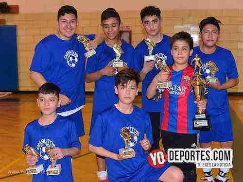 Fiesta en el infierno Diablitos Campeones y Real Madrid segundo lugar