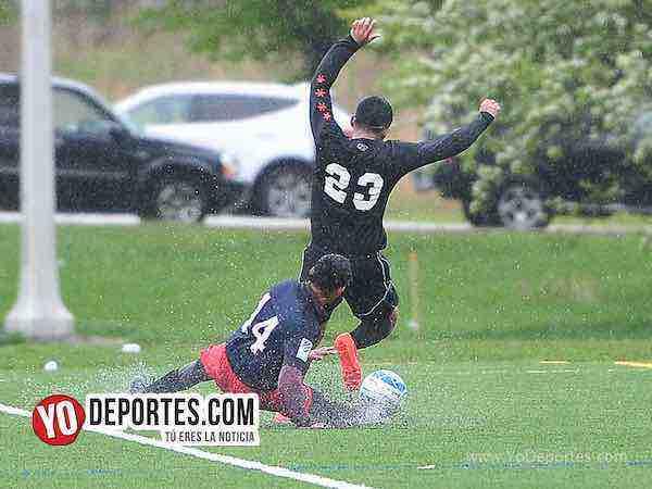 FC Wise y el León no le tuvieron miedo al frío ni a la lluvia