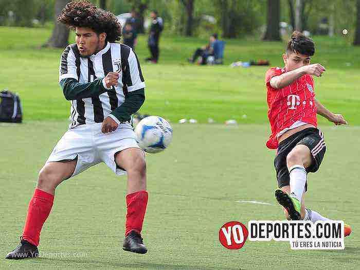 Gallos Rojos-Porto Alegre-Liga Douglas Futbol Chicago