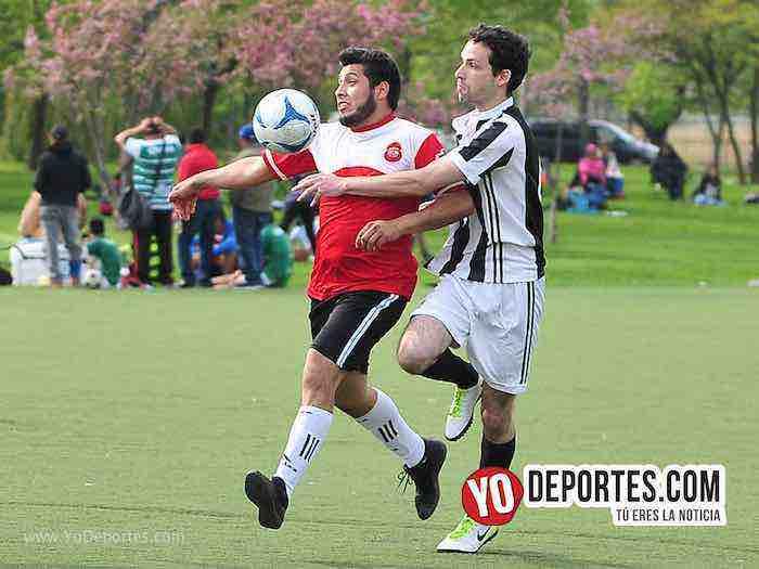 Gallos Rojos-Porto Alegre-Liga Douglas Futbol en Chicago