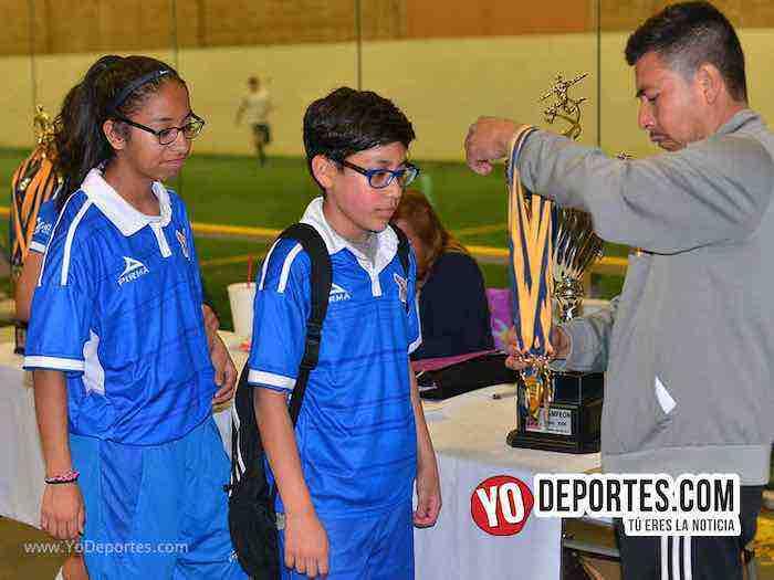Halcones-Leones-Guerrerense Socer League Campoenes infantiles Chicago soccer futbol