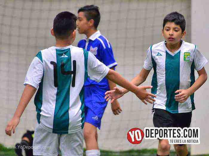 Halcones-Leones-Guerrerense Socer League Futbol Chicago infantil