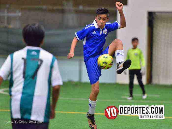Halcones-Leones-Guerrerense Socer League futbol infantil chicago
