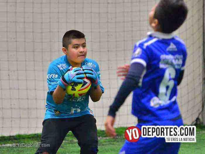 Halcones-Leones-Guerrerense Socer League kids soccer