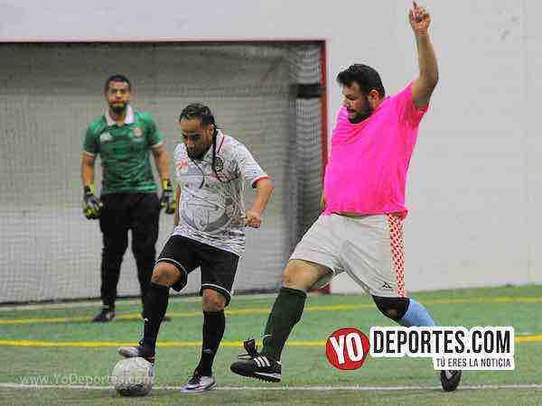 Solo un jugador de La Naja no metió gol en el triunfo ante Gladiadores