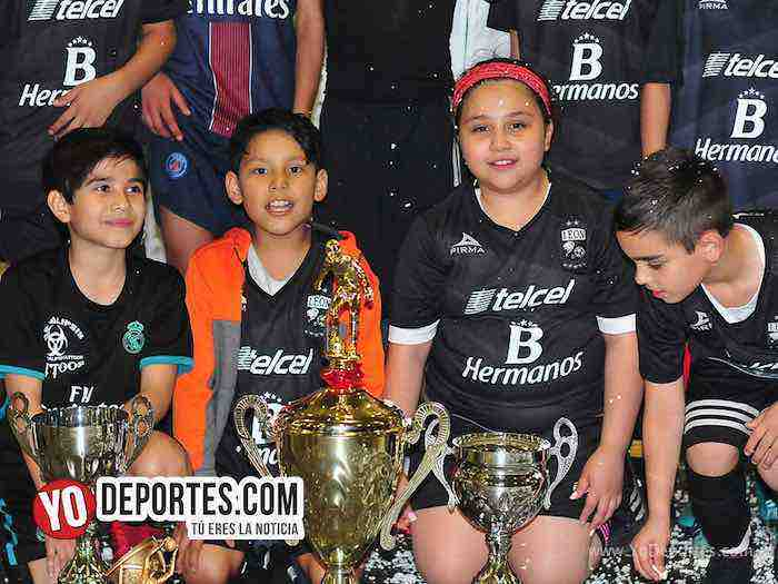 Liga San Francisco-Finales infantiles indoor chicago