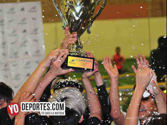 Liga San Francisco-Finales infantiles indoor soccer Chicago