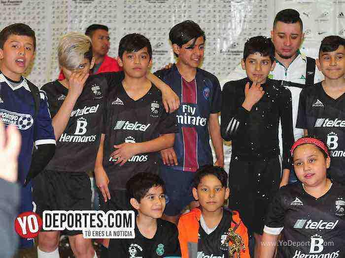 Liga San Francisco-Finales infantiles indoor soccer