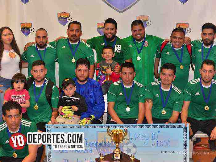 Michoacan-Deportivo El Sauz-Chitown Futbol veteranos