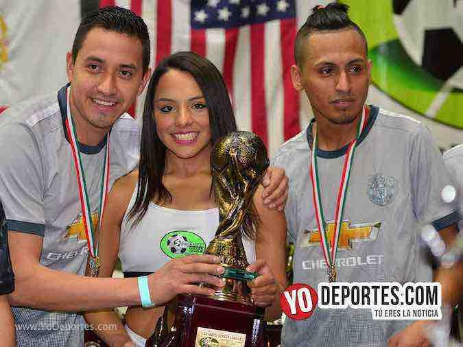 Campeones y subcampeones de la Liga 5 de Mayo van a la Copa Neymar Jr Chicago
