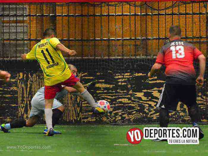Monarcas-Jalisco-Chitown Futbol veteranos indoor