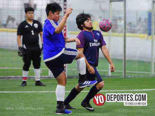Nacional contra Morelos Jr semifinal de recopa en la Liga Matehuala de Melrose Park Sports Zone