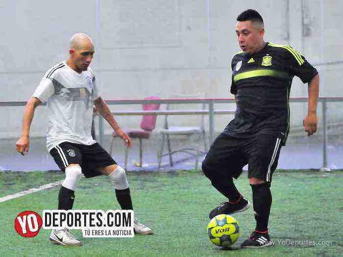 Real Celaya-Bayern-Liga San Francisco futbol indoor soccer