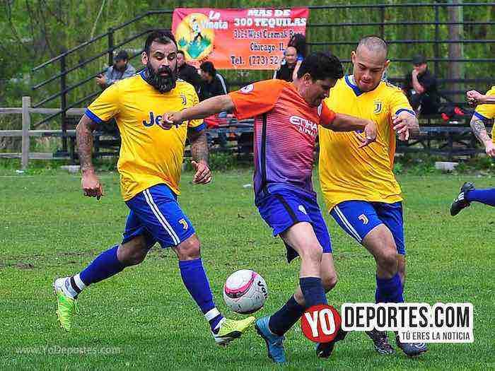 San Luis-Juventus-Liga 5 de Mayo Sherman Park soccer