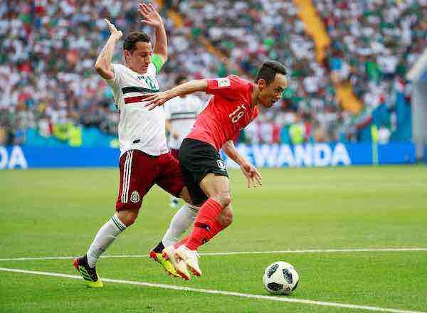 Andres Guardado Mexico-Corea-Mundial Rusia