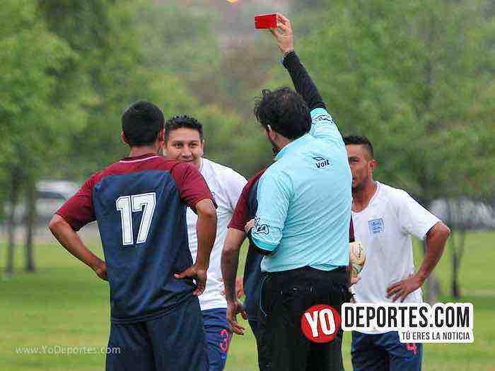 Arbitro Alvaro Cortina-Estrella Blanca-Douglas Boys-Liga Douglas