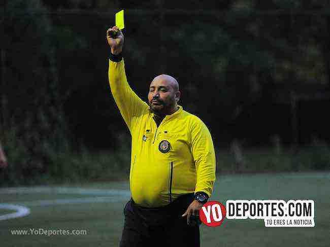 Arbitro Carlos Aragon-Siria-Islandia-Illinois International Soccer World Cup