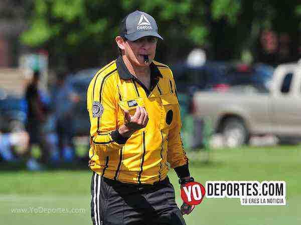Arbitro Edmundo Gonzalez-Valle FC-Deportivo Oro-Liga Douglas