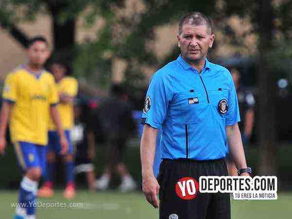 Arbitro Jesse Aguirre-Cachorros-Pueblo Nuevo-Liga Latinoamericana-sabado