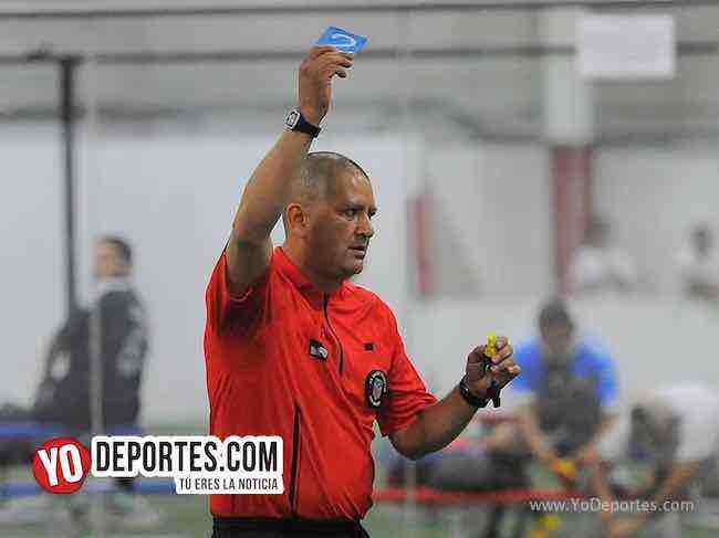 Arbitro Jesse Aguirre-Warriors-Winchester-Liga Latinoamericana