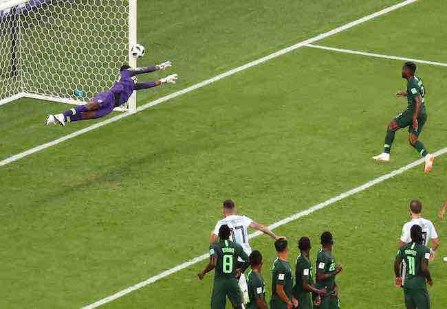 Argentina-Nigeria-Mundial de Rusia-Francis Uzoho