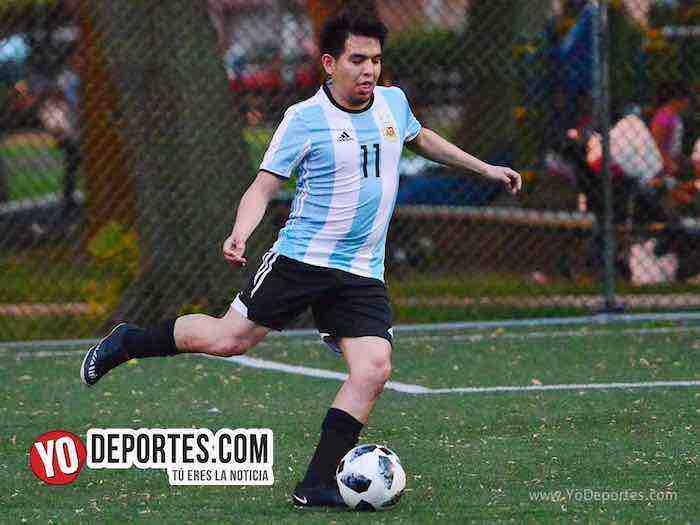 Argentina vence a Islandia en el Mundialito que se juega en Rogers Park