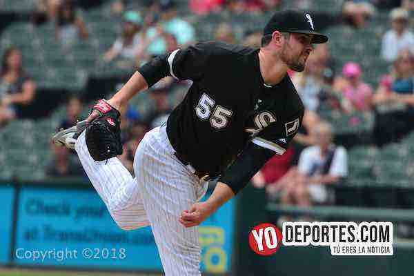 Carlos Rodon-White Sox-Cleveland Indians