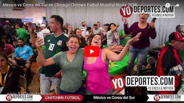 México derrota a Corea y en Chitown volvió a sonar El Rey