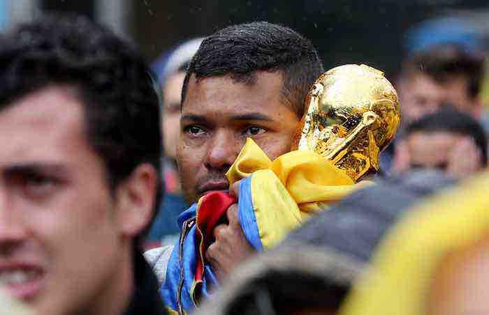 Japón enfría a una Colombia unida por el Mundial tras la división electoral